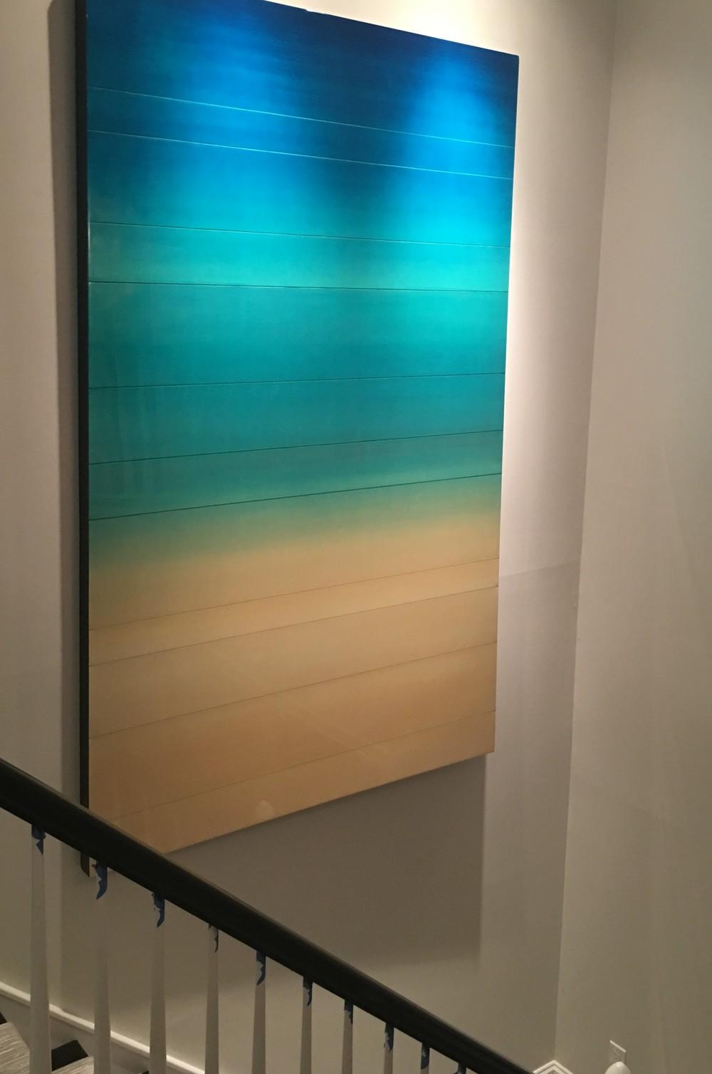 """"""" Acqua """" 76 x 60 inchesPrivate collection, Rochester, NY"""