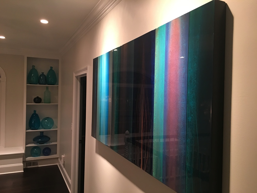 """ Cores ""  36 x 72 inchesPrivate collection, Rochester, NY"