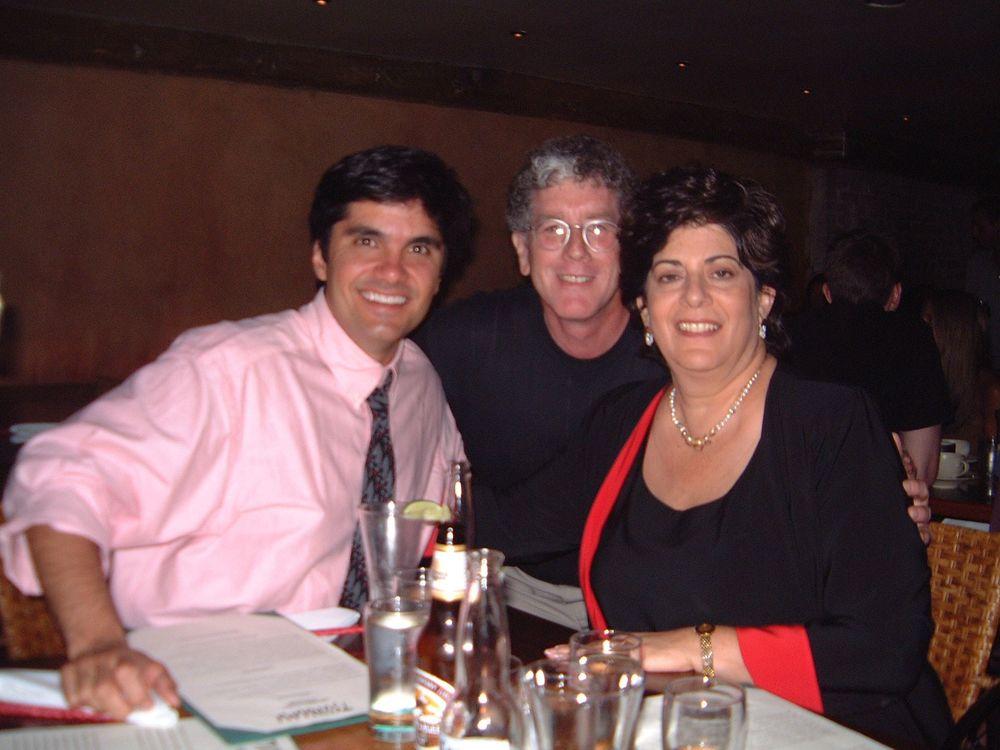 With Howard and Nan Miller, Southampton, NY2001