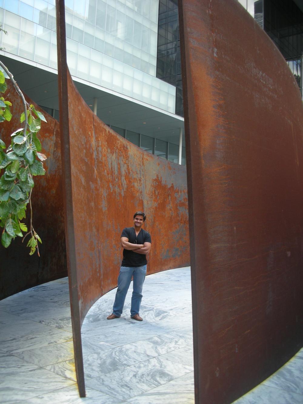 Richard Serra exhibition at the MOMA, NY