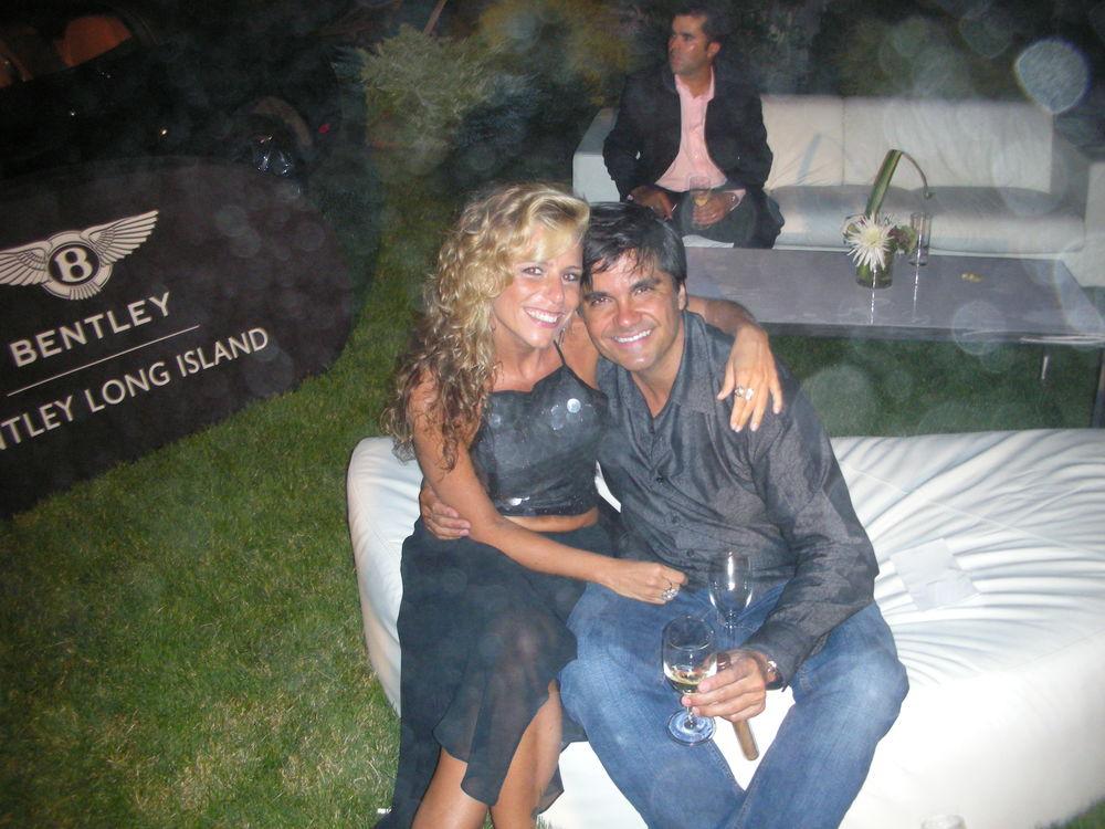 At the Hamptons Luxury Show  With my wife Adriana  East Hampton, NY  2008