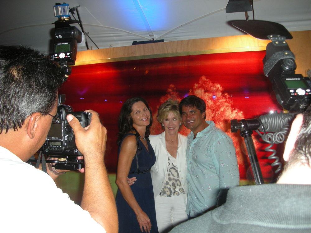 With Sheila Rosenblum and Jane Fonda  Southampton, NY20008