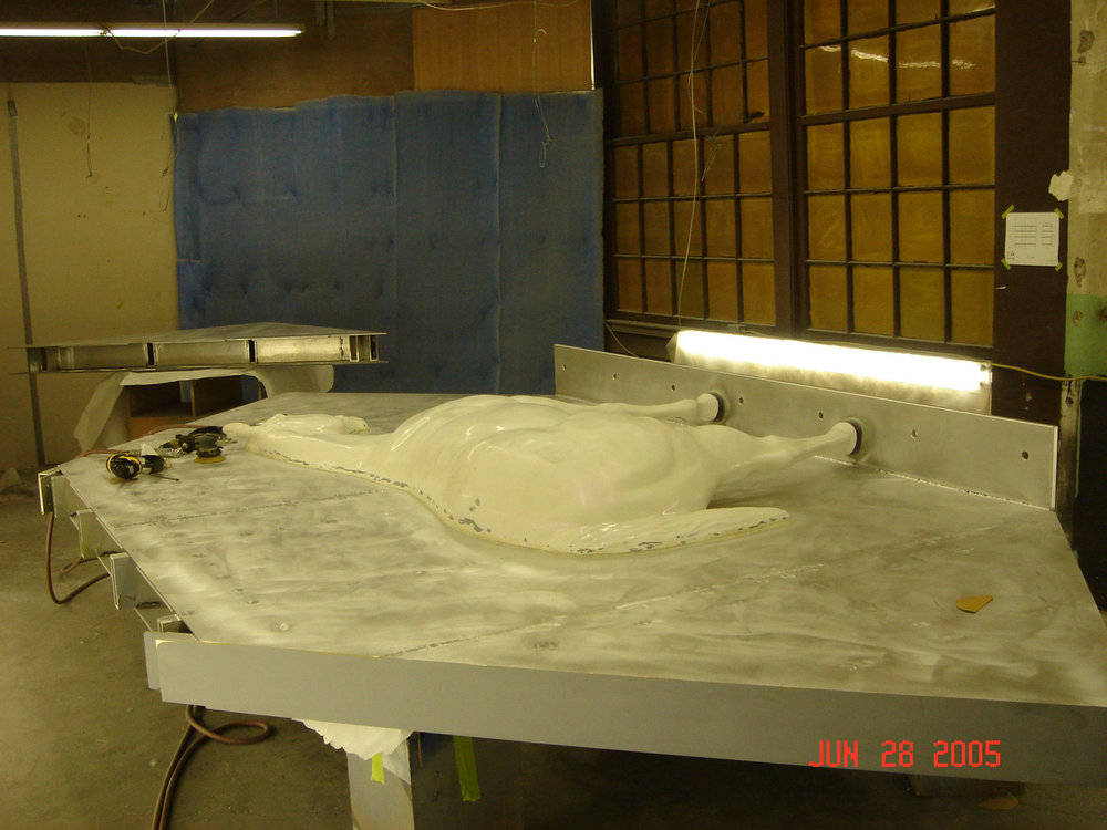 Fabrication process, Rochester, NY 2005