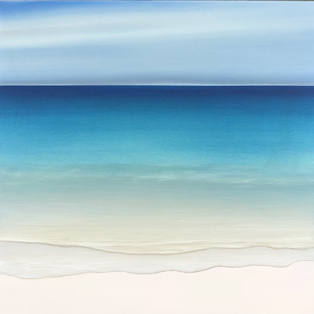 """"""" SEASCAPES """"   Original oil paintings on aluminum with resin"""