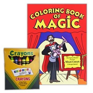 Magic Coloring Book w/ Crayons — TimWardMagic.Com
