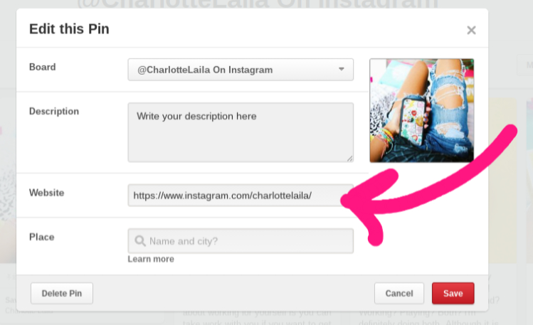instagram how to add learn more button
