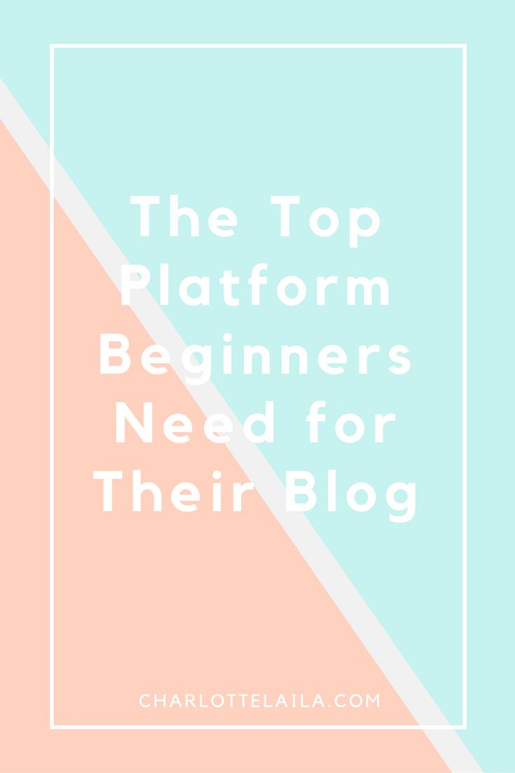 Top platform for bloggers
