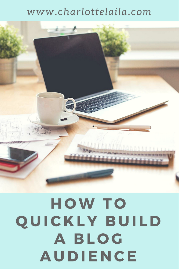 How to quickly build a blog audience