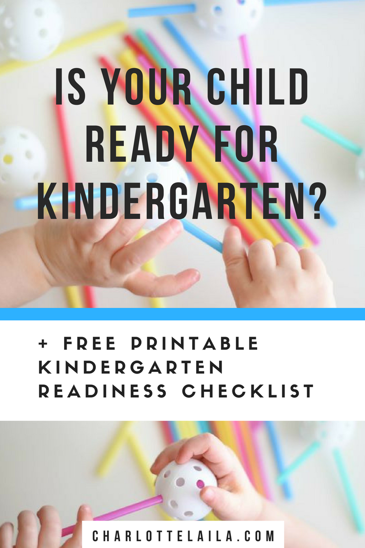 Is Your Child Ready For Kindergarten >> 35 Things Your Child Needs To Know Before Kindergarten Charlotte Laila