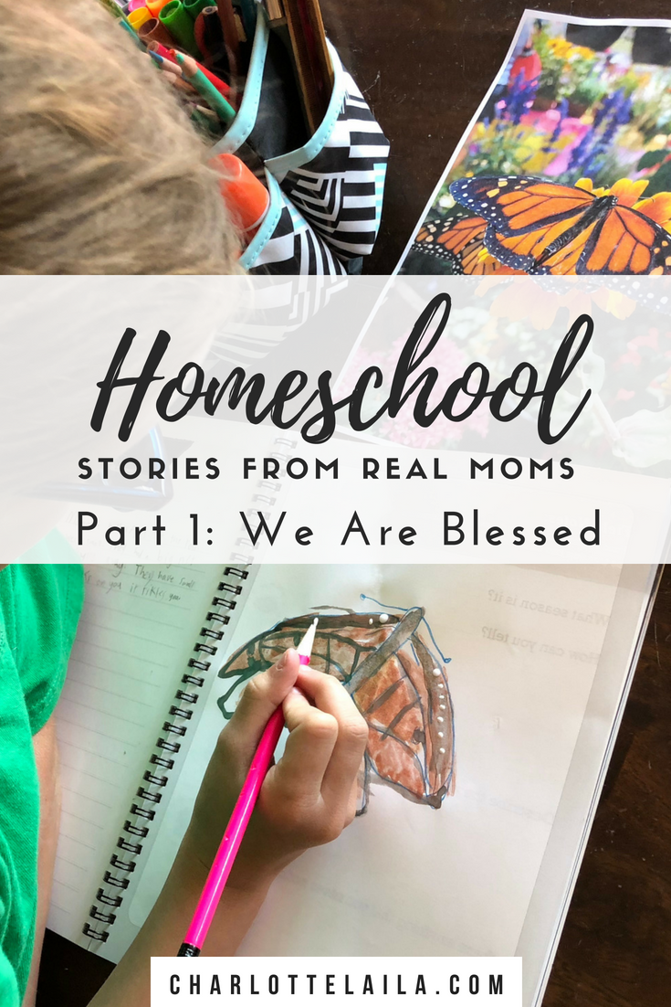 Homeschool Stories From Real Moms Part 1: We Are Blessed