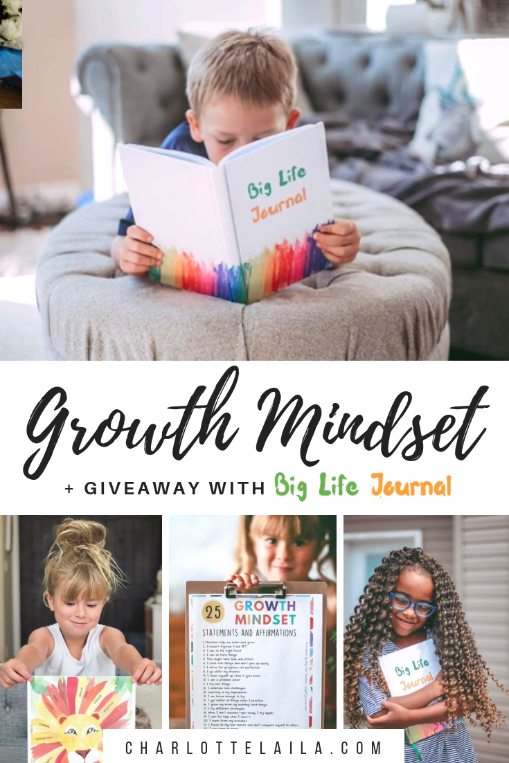 Growth Mindset with Big Life Journal