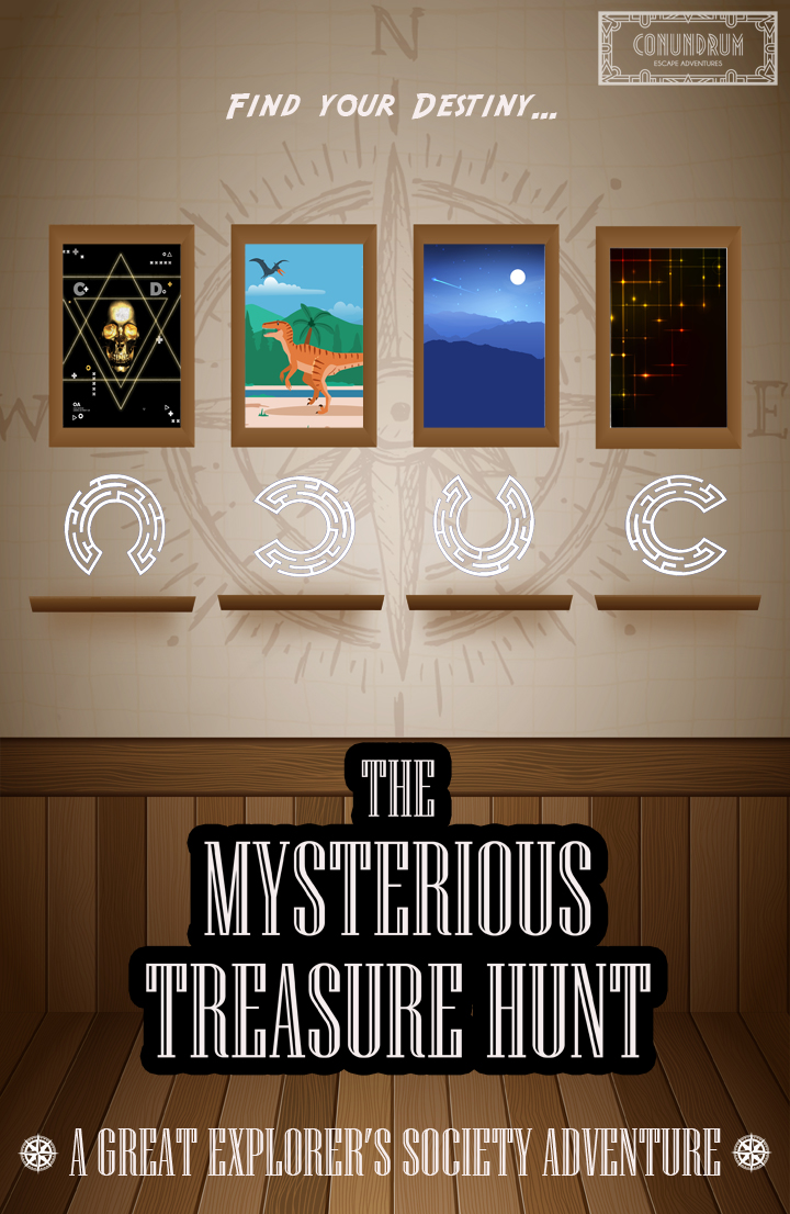 The Mystterious Treasure Hunt