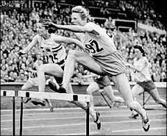 Fanny Blankers- Koen won four Gold Medals in London in 1948. The stadium in Hengelo, Netherlands is named in her honor.