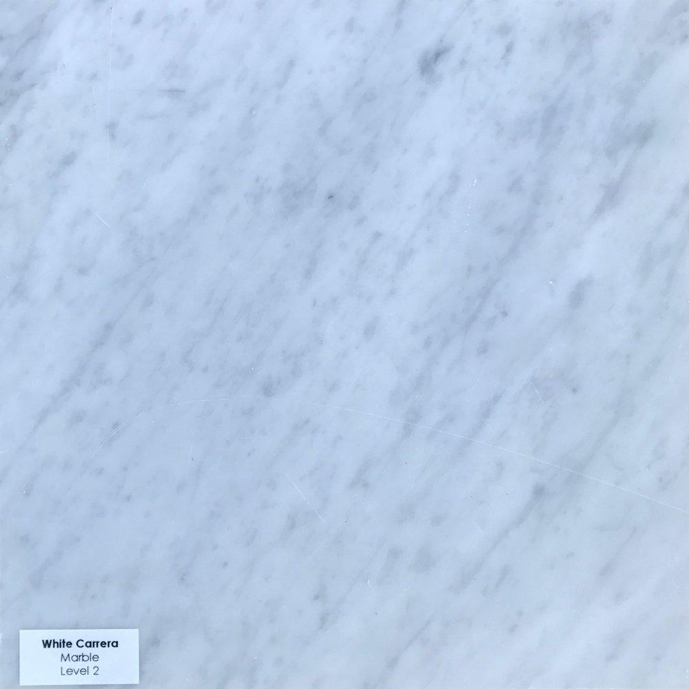 White Carrera (Marble)