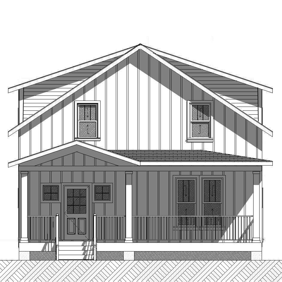 Franklin II - Lot 2(SOLD) - This Franklin II will be built the first one ever built in the Farmhouse style!  The style of the finishes will change to reflect the classic farmhouse charm, but you will have the same great versatile floor plan as always with four bedrooms and a great master suite! 4 bedrooms, 2.5 baths2120 square feetView Franklin II Pictures and FloorplanDownload The Specification Sheet