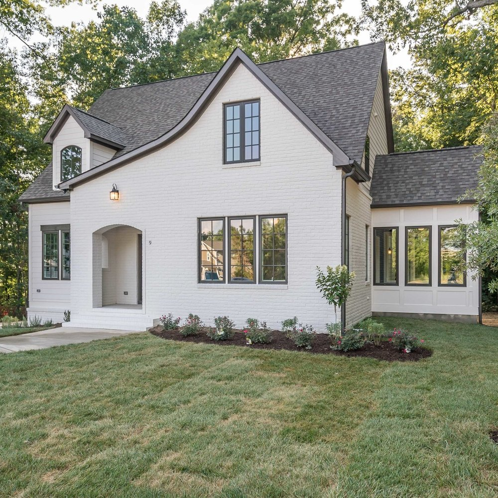 Potter - Lot 4$485,800 - The Potter is part of our charming European Cottage series.  In addition to the charming finishes including the painted brick detail on the exterior, the groin vault ceiling in the foyer and the iron balusters on the staircase, this floorplan has a great layout including an open living area, a first floor master, a home office space and a sunroom!3 bedrooms, 2.5 baths2380 square feetView Potter Pictures and FloorplanDownload The Specification Sheet