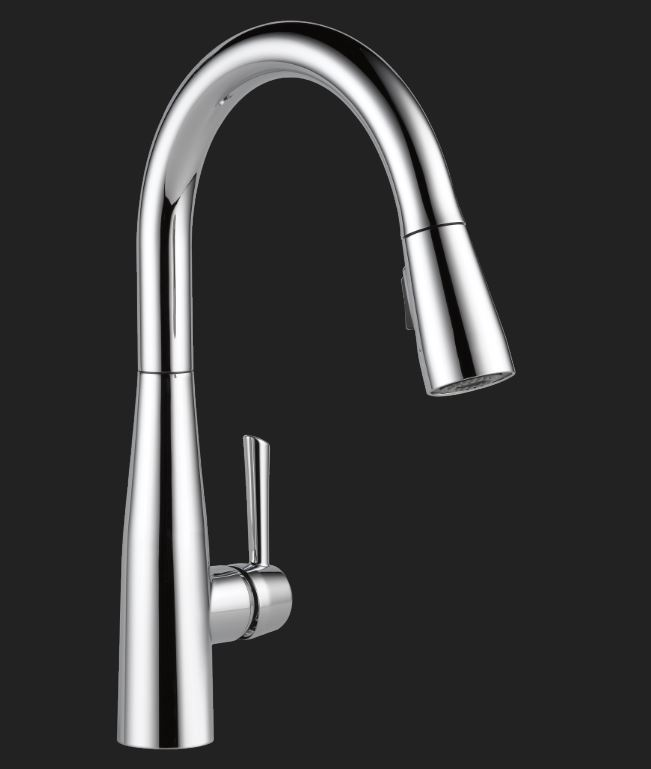 Essa Single Handle Pull-Down Faucet, Chrome                                    Model #9113-DST