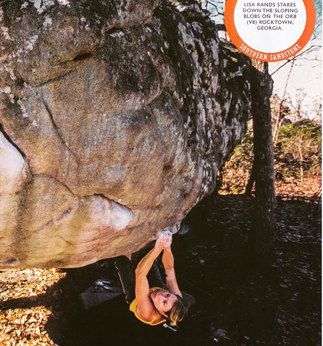 Pleasant surprise to see a pic of me in Climbing Magazine. Fond memories from a trip to the Southeast nearly 15 years ago! 📷 @akornylak #highpointclimbingteam #highpointclimbingschool
