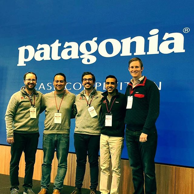 Team Patasloania took home Honorable Mention at the Patagonia Case Competition! So proud of our team: @julianortiz907 @chriskharding @dgarbvt @roshan_vora - Great weekend with @patagonia, @berkeleyhaas, and all of the other finalists! #mymitsloan #mitsusty #mitsustainability