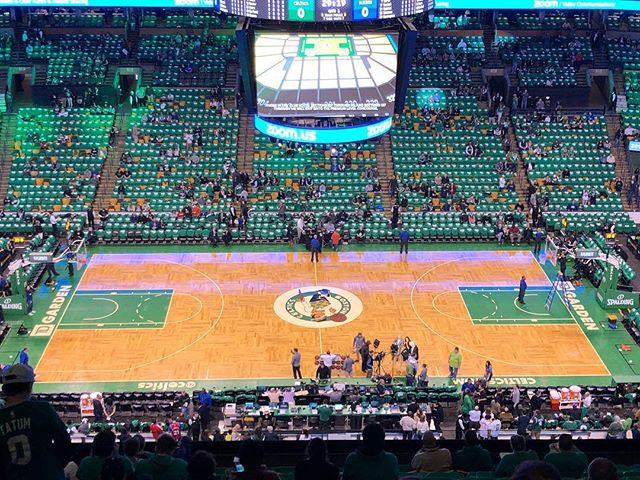 I've been Trusting the Process since the beginning and it was very cool to see the Process progressing to the playoffs this year! Lucky enough to go to Game 1 tonight in Boston. Unfortunately the Sixers lost but you know what they say; you need to trust the process. #trusttheprocess #ttp #sixers