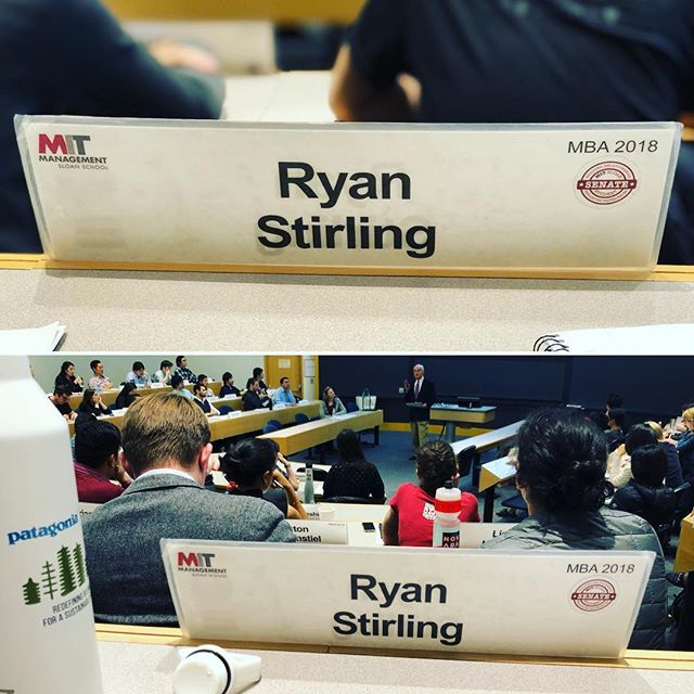 Last day of class at MIT Sloan... Two years went by real quick! #lastdayofschool #mymitsloan #obligatorynametagpic
