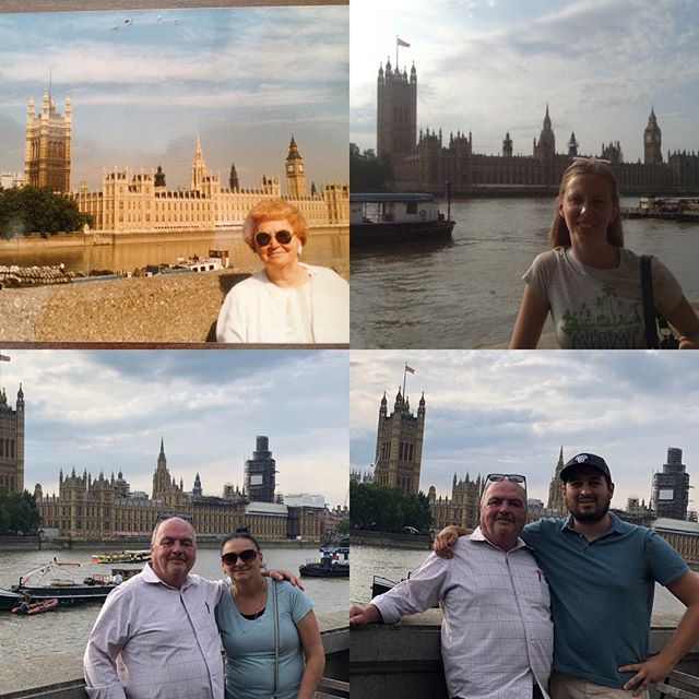 This was a part of my trip that I was very excited for! Traveling around Europe with my parents was something I've always wanted to do but never thought it would actually happen. This is my dad's first time abroad ever. We saw the sights in London, Scotland, and a surprise (to my mom!) visit to Paris. Some highlights: Stirling Castle, recreating photos that my grandmother took on her European trip in the 90s, the Edinburgh Tattoo Show, and seeing the pure joy of my mom experiencing Paris for the first time. #europe #london #scotland #edinburghtattoo #paris