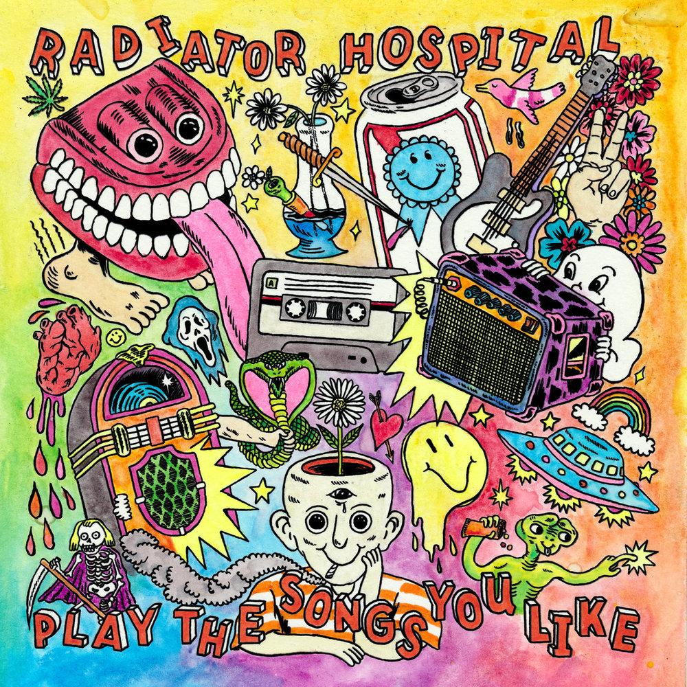 "Radiator Hospital - Play ""The Songs You Like"" (Salinas Records)   Engineer, Mixing"