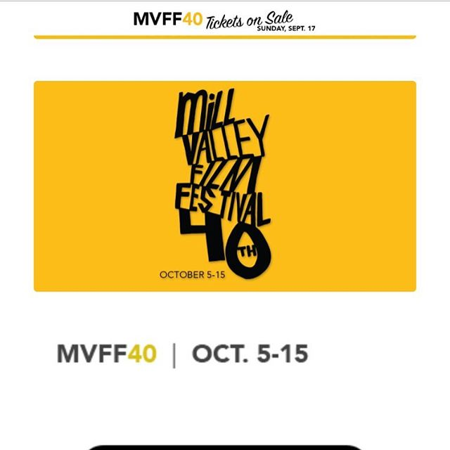 The short film we produced with @breadandroses_ca has been accepted to the @millvalleyfilmfest ! #mvff40