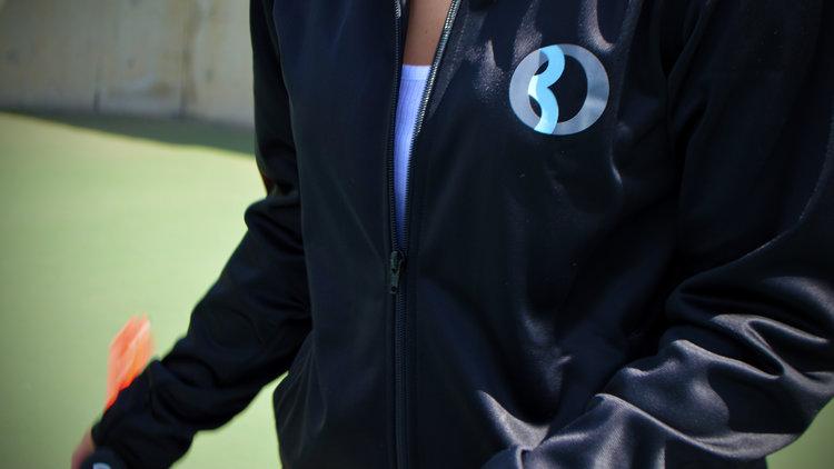 30Fifteen Katy Jacket on the court
