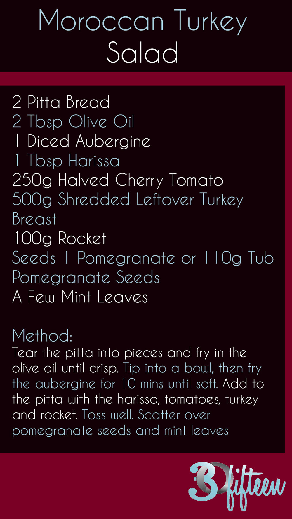 Moroccan Turkey Salad Recipe