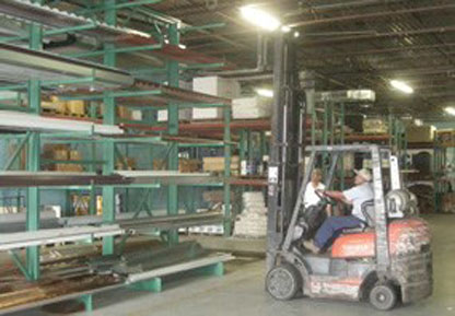 Fully stocked 14,000 SF Warehouse