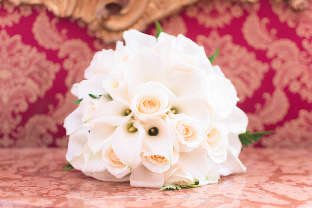 Venice Italy Wedding Bouquet