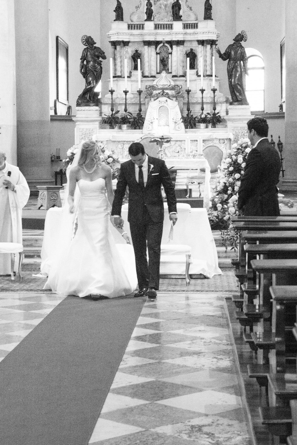 Venice Italy Redentore Chapel Wedding Ceremony