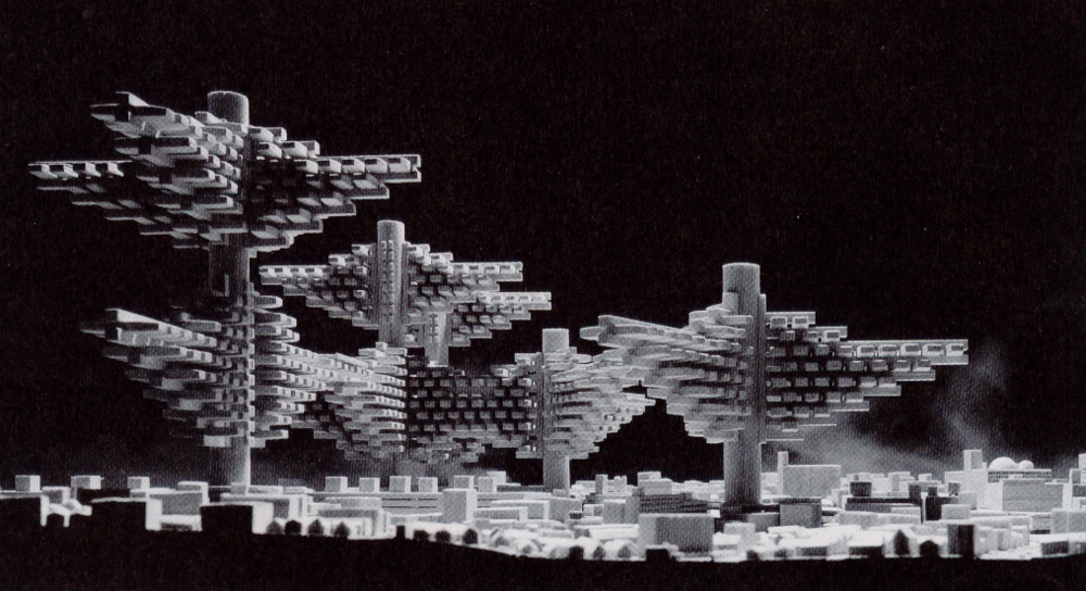 FIGURE 1: ARATA ISOZAKI'S CITIES IN THE SKY