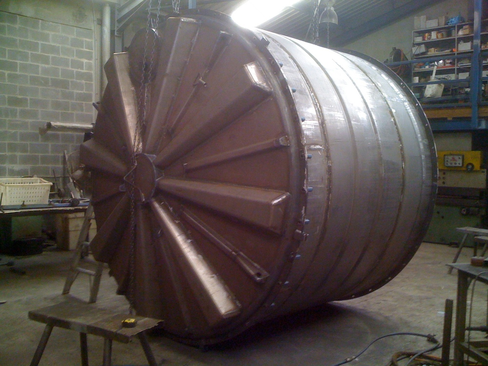 Round Water Tank Mould
