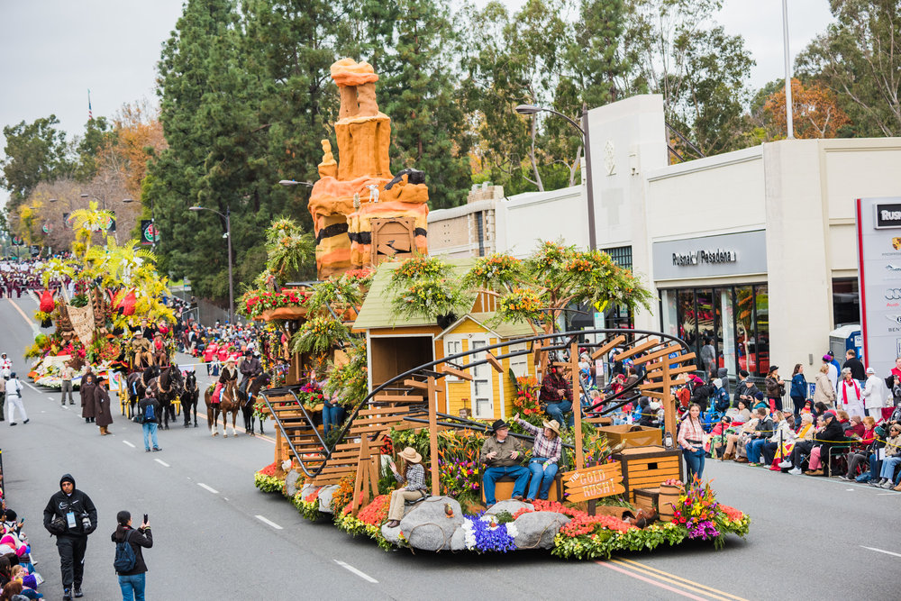 Downey Rose Float Association