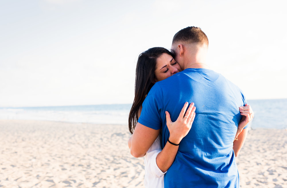 Monica Linda Photography, santa monica beach proposal engagement