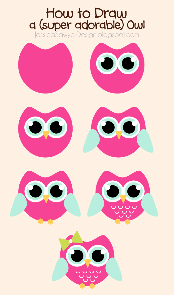 Uncategorized Easy Owls To Draw how to draw an owl free clipart jessica sawyer design excited bring you guys my first tutorial by far most requested is for owls so i put together this