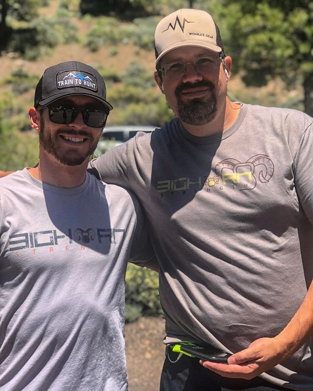 Reno Tahoe Odyssey 2018! Proud to help support team @wildernessdadlete and run for the Nevada Outdoorsmen in Wheelchairs organization. | #bighorn #strength #training #hunting #fitness #brand #apparel #hunt #fit #traintohunt #wildernessathlete #rto2018 #renotahoeodyssey |