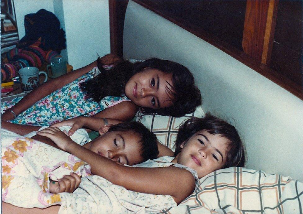 Me and my brother and sister.