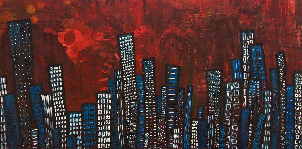 Blue Buildings Red Sky.jpeg