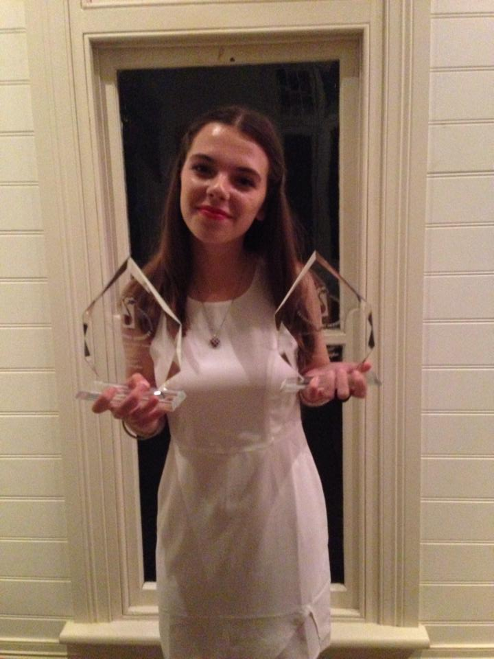 GRACIE HUGHES - 2014 DOLPHIN AWARDS - BEST YOUTH + BEST POP