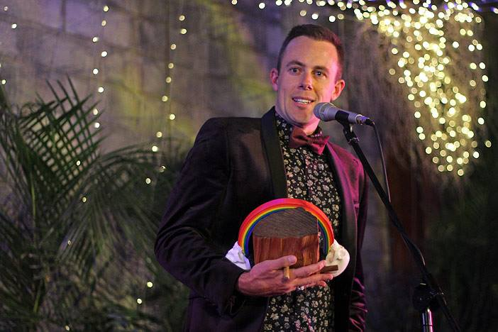CASEY BARNES - 2015 GOLD COAST MUSIC AWARDS - PEOPLE'S CHOICE