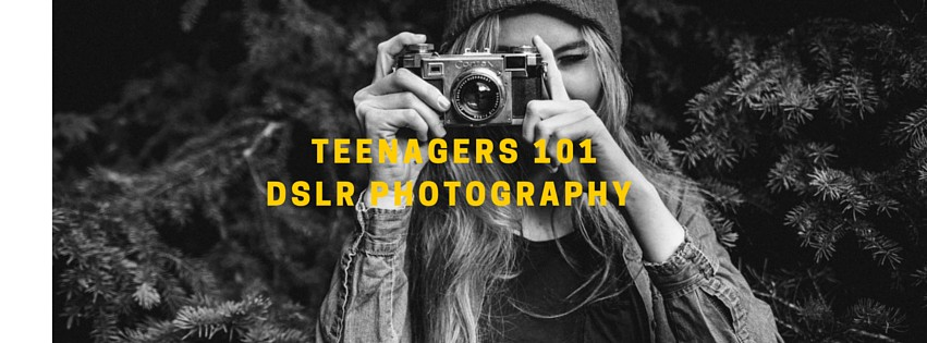 Teenager photography workshop