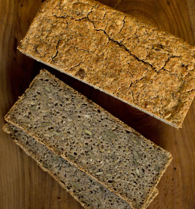 Non Gluten ingredients bread £3.80