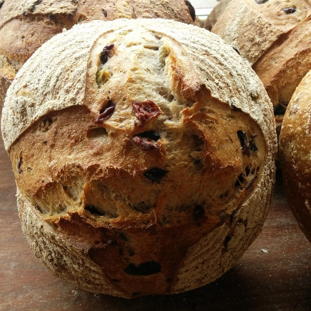 Olive & Thyme sourdough £2.30/£3.70