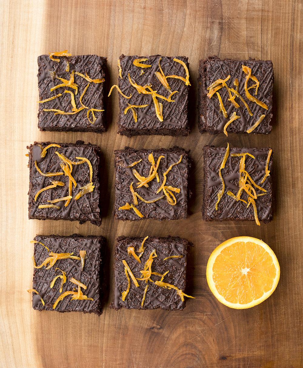 Chocolate Orange Brownie (Vegan)