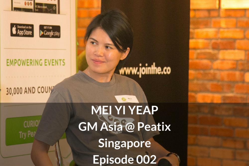 Mei Yi Yeap Peatix Singapore