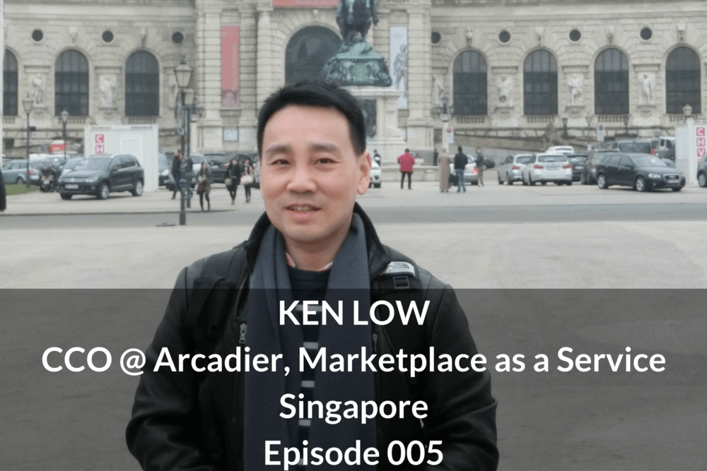 Ken Low CCO Arcadier, GrowthKungFu.com