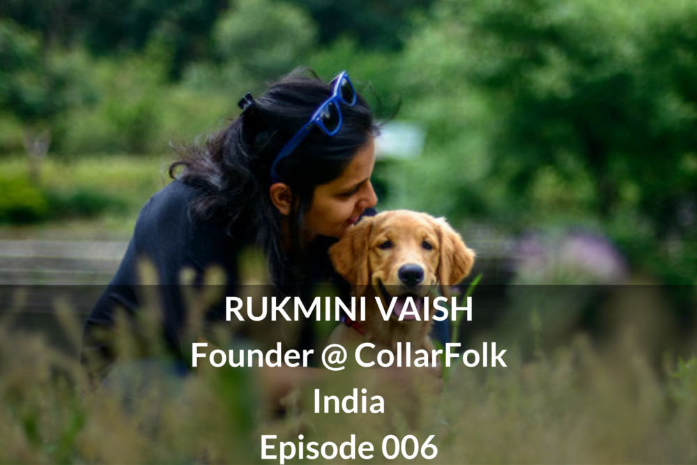 Rukmini Vaish Founder Collarfolk Indian Startup Asia